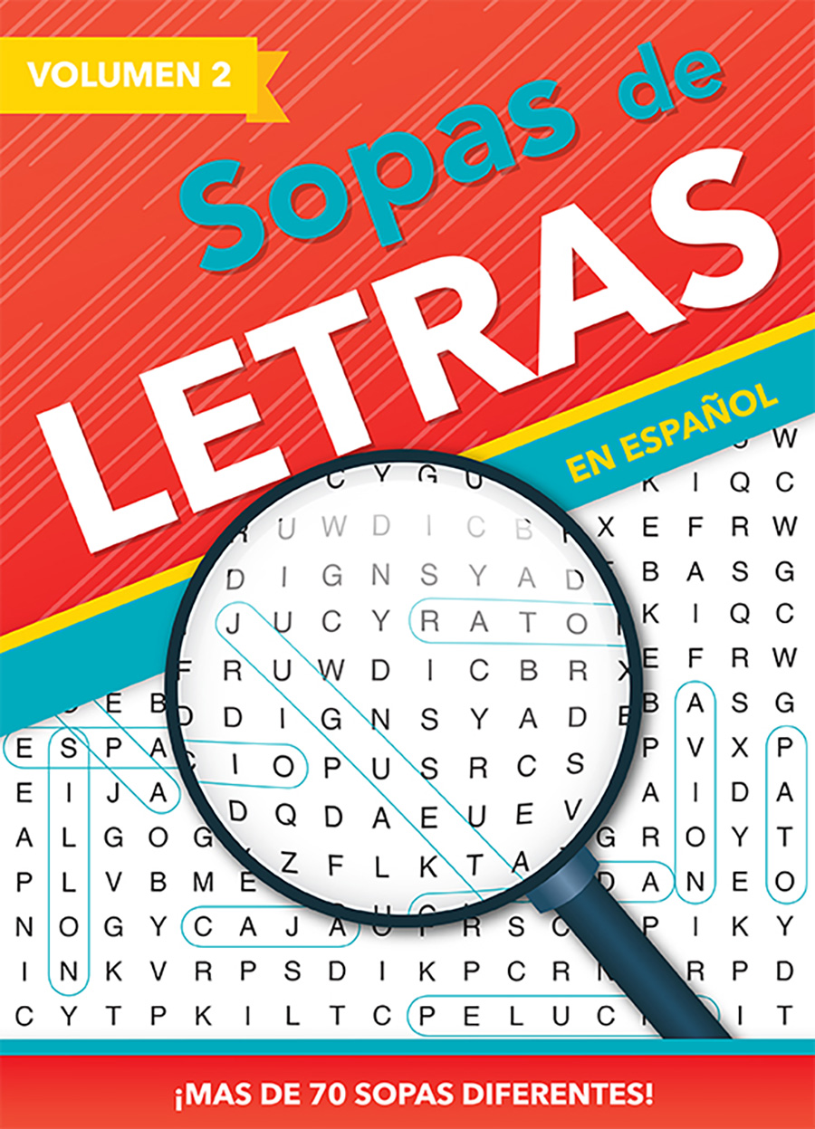 3014 - 96 PG Spanish Find-A-Word Puzzles III